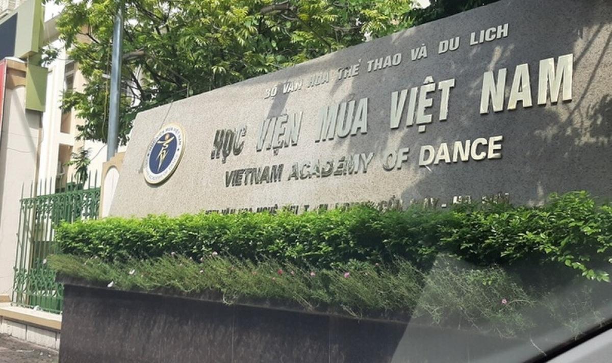 Học viện Múa Việt Nam (Ảnh minh họa: KT)
