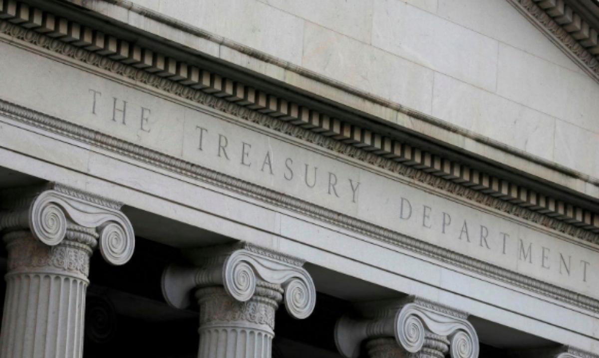 Trụ sở Bộ Tài chính Mỹ. (Ảnh: Reuters)