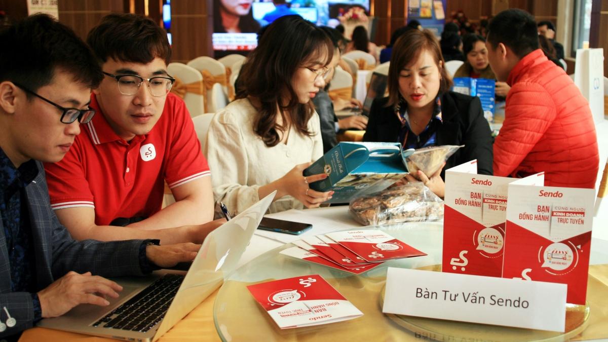 """Các sản phẩm của Sơn La sẽ được phân phối trên phạm vi toàn quốc thông qua """"Gian hàng Việt trực tuyến"""" trên sàn thương mại điện tử Sendo."""