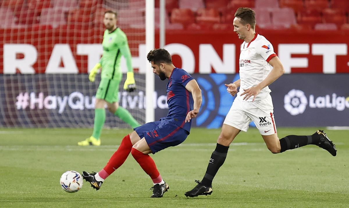 Atletico Madrid thua 2, hòa 4 trong 10 trận gần nhất tại La Liga. (Ảnh: Getty)