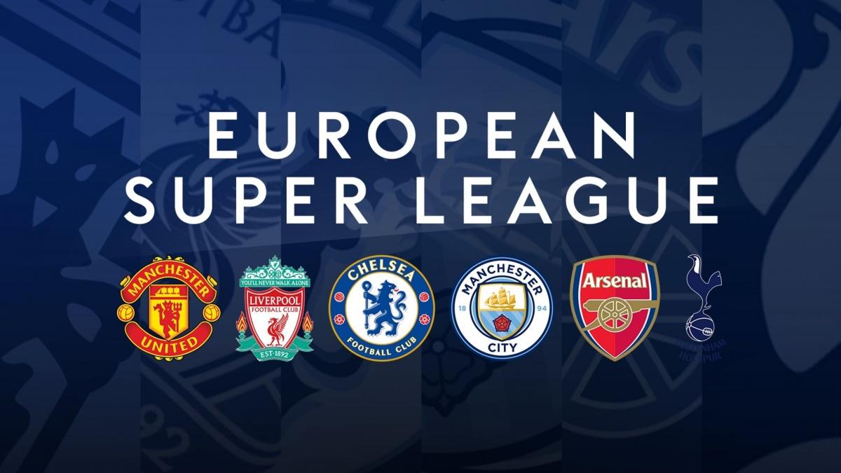 """Nhóm """"Big Six"""" ở Ngoại hạng Anh rút lui khiến dự án Super League đứng trước nguy cơ không thể thực hiện. (Ảnh: Sky Sports)."""
