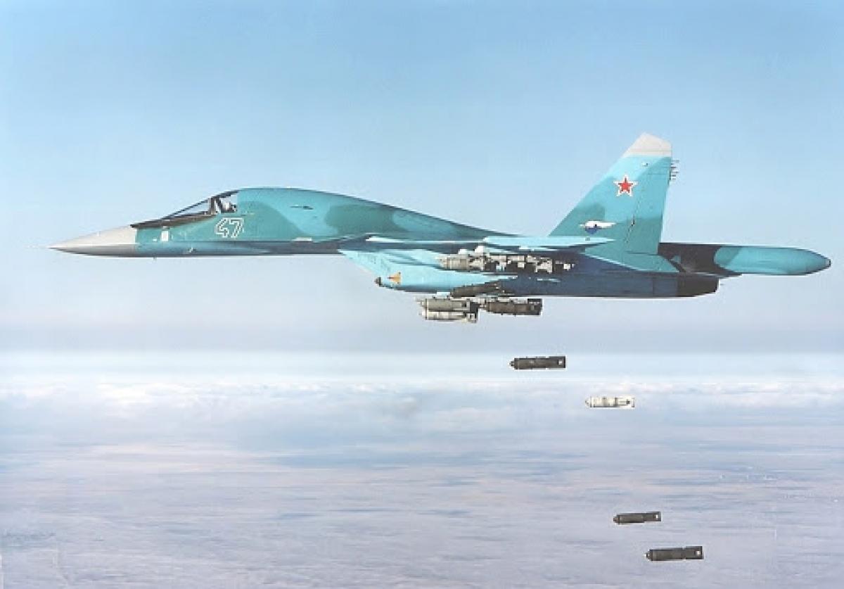 Su-34 của Nga. Ảnh: APA