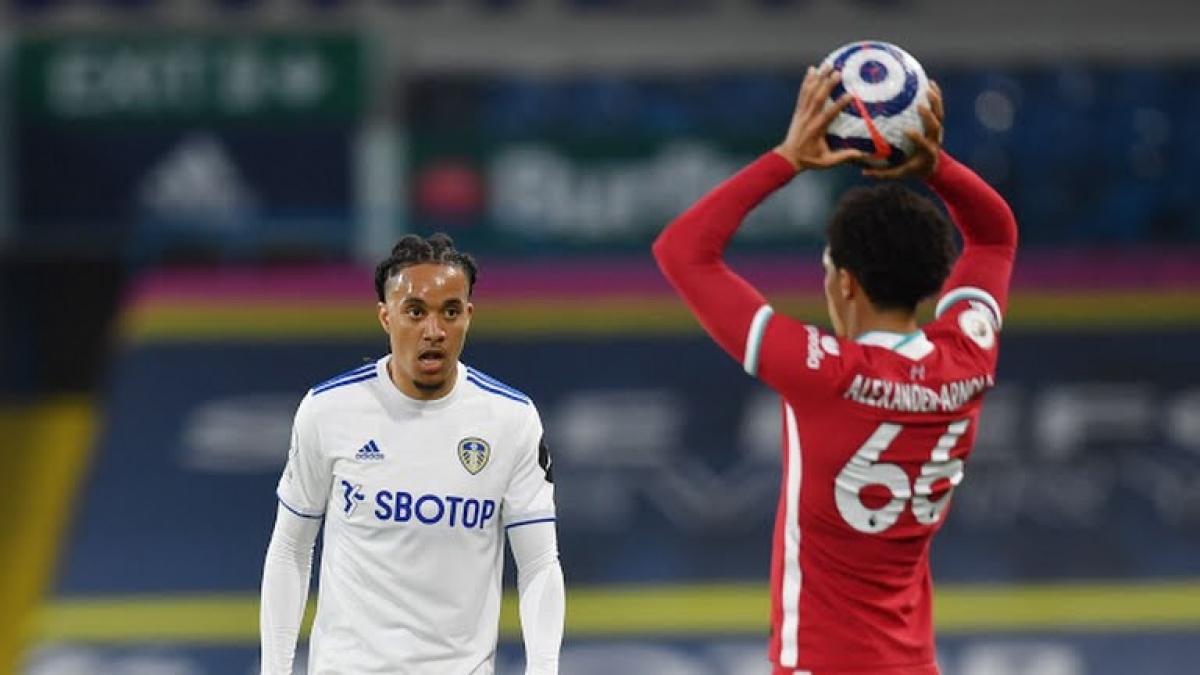 Leeds Utd chơi tốt trước Liverpool (Ảnh: Reuters).