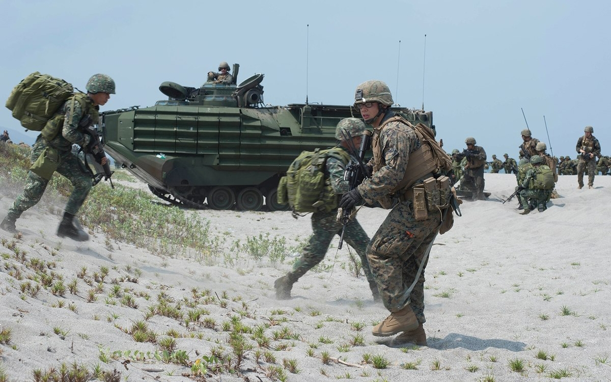 Philippines và Mỹ tập trận quân sự chung thường niên (Ảnh minh họa: Military Times).