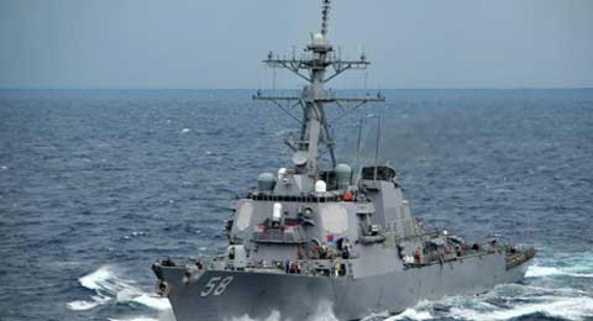 Tàu khu trục tên lửa USS Laboon của Mỹ. (Ảnh: US Navy)