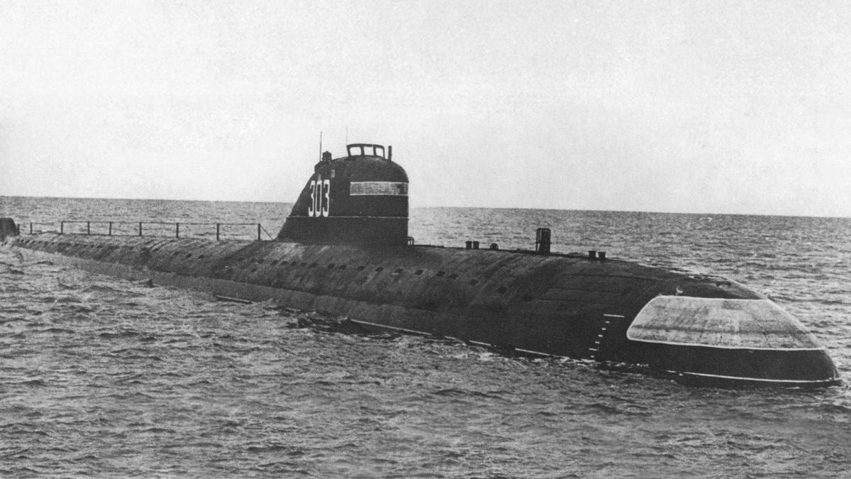 tàu ngầm K-3. Ảnh: RBTH