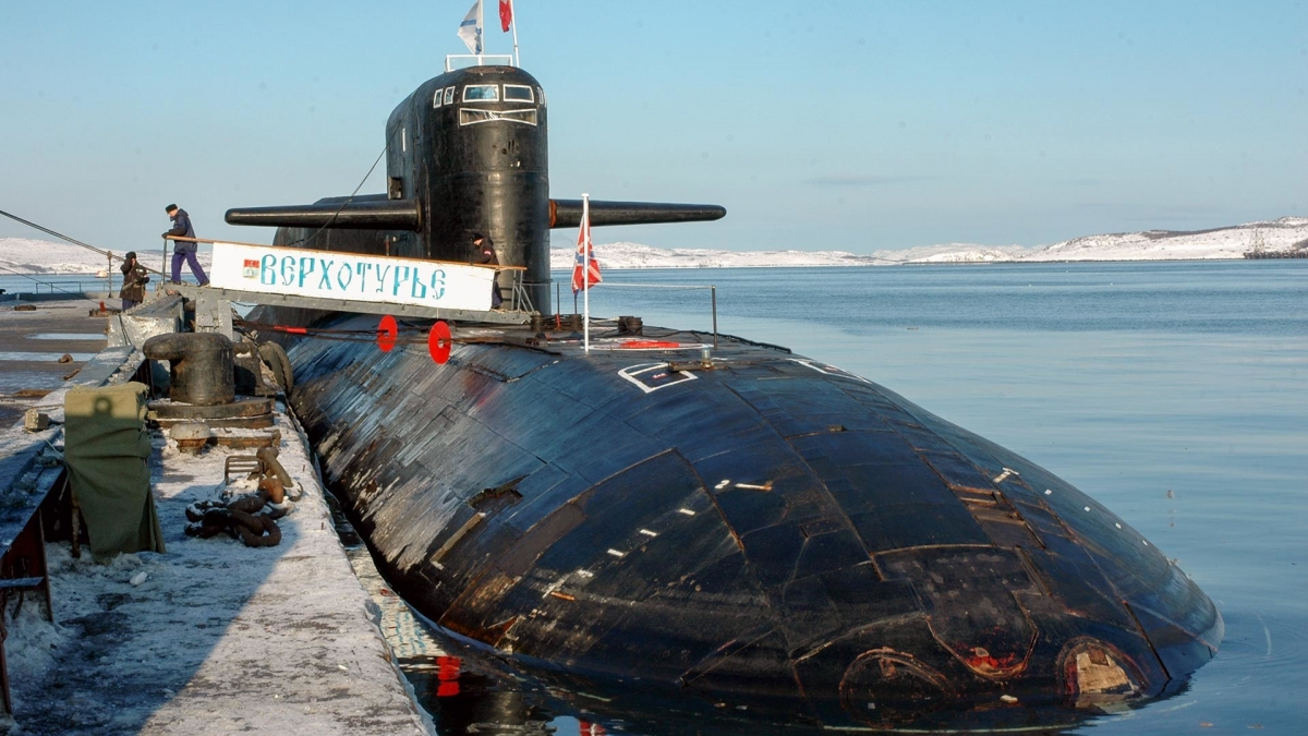 Tàu ngầm K-51 Verkhoturye. Ảnh: TASS