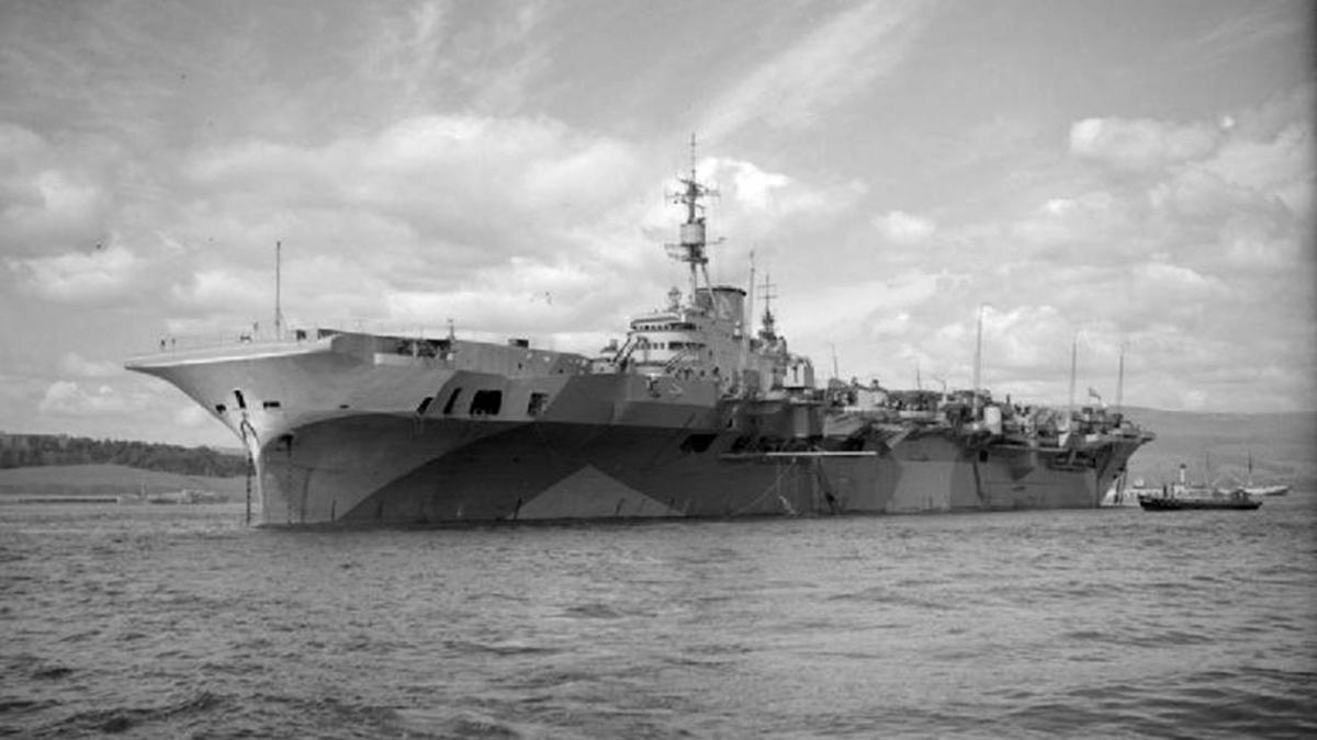 Tàu sân bay HMS 'Implacable' của Anh. Ảnh: RBTH