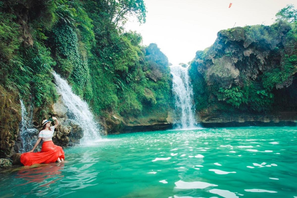 Thác Chiềng Khoa.Nguồn:Ban Quản lý Khu du lịch quốc gia Mộc Châu