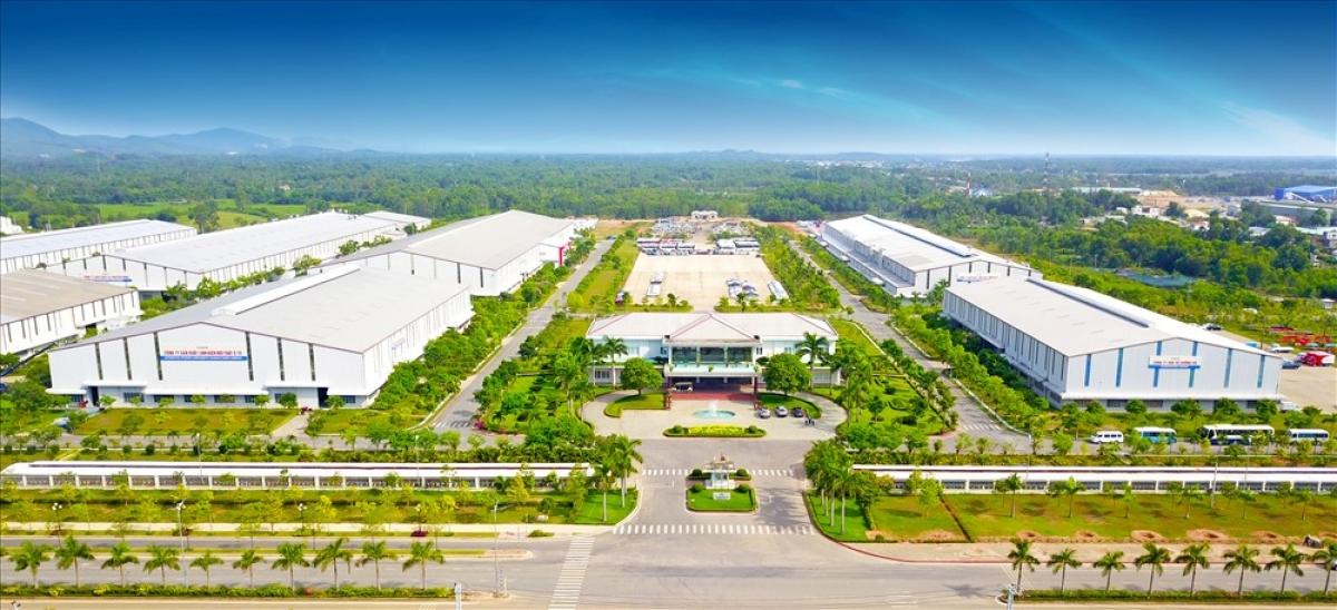Khu kinh tế mở Chu Lai (Quảng Nam) thu hút lượng lớn đầu tư nước ngoài. (Ảnh minh họa: KT).