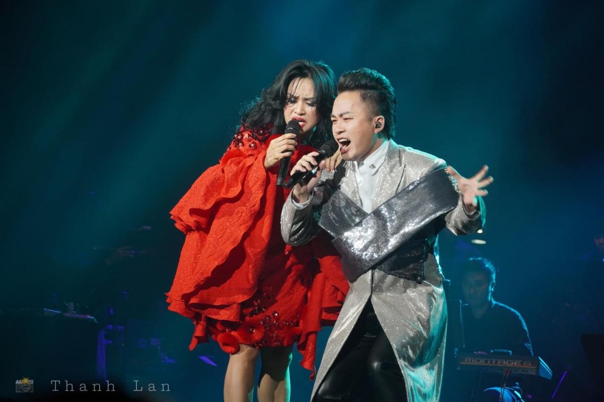 Ca sĩ Thanh Lam và Tùng Dương.