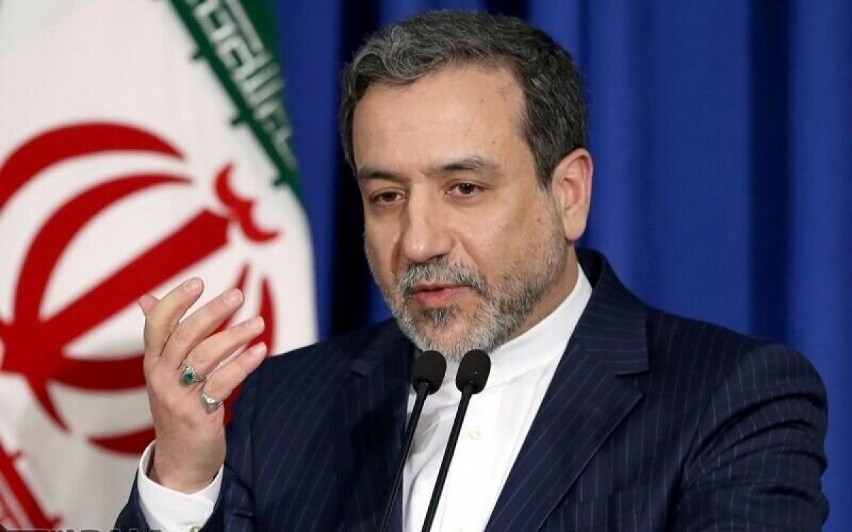 Thứ trưởng IranAbbas Araghchi. Ảnh: IRNA.