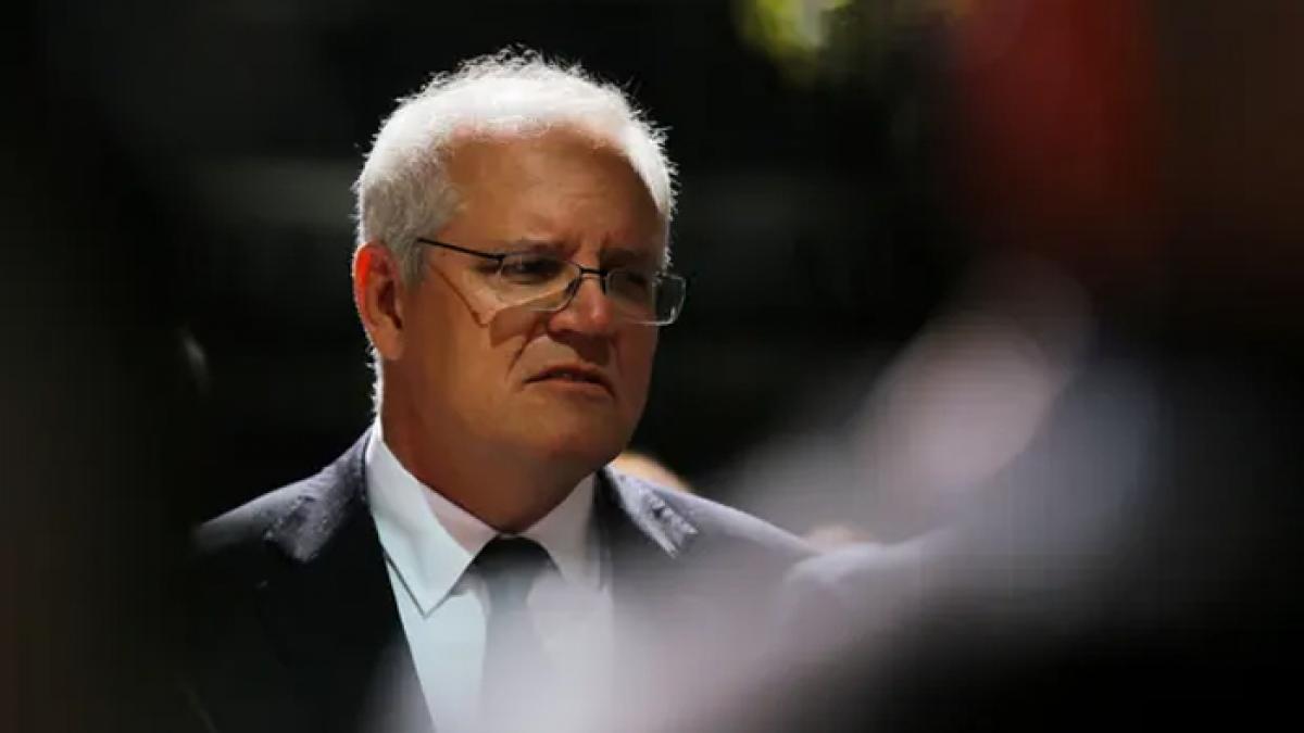 Thủ tướng Australia Scott Morrison (Nguồn: Steven.png)