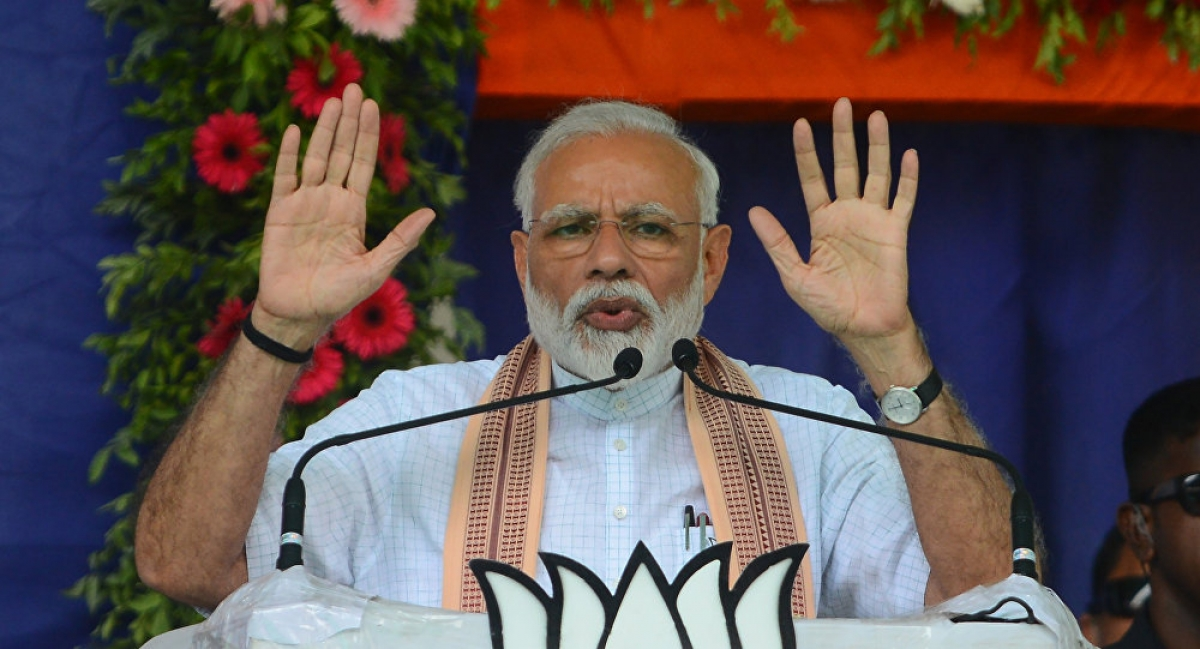 Thủ tướng Ấn Độ Narendra Modi. Ảnh: AFP