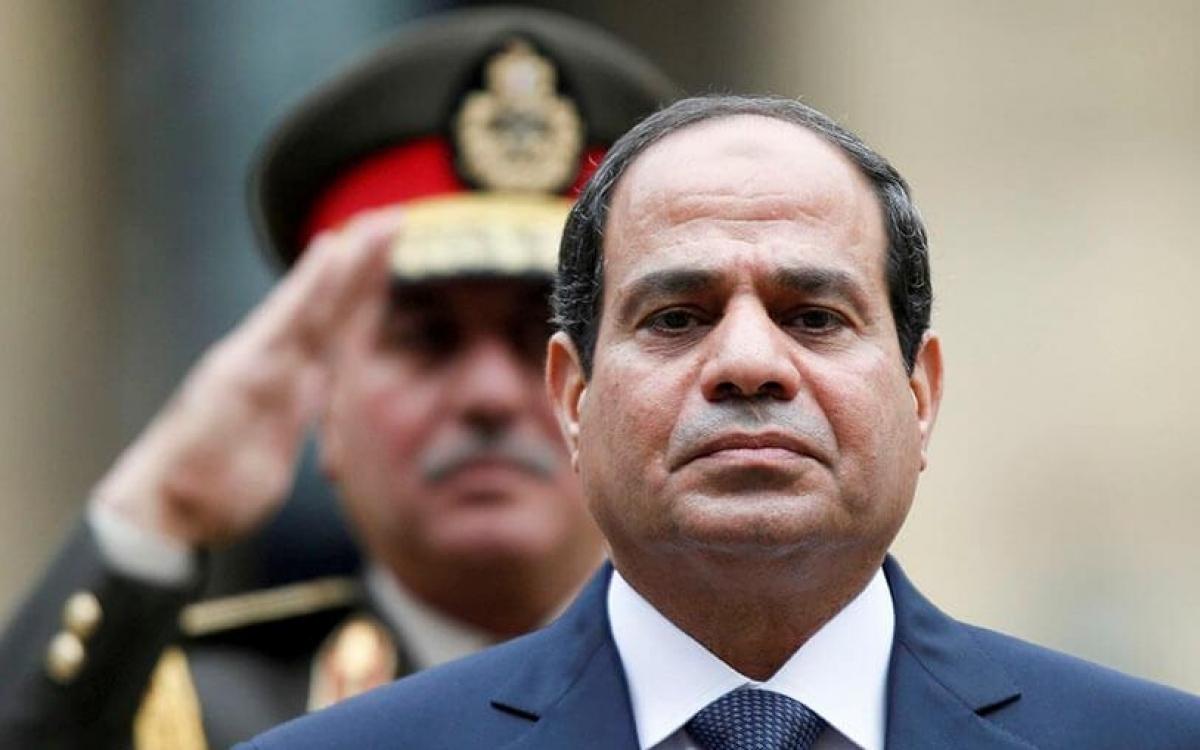 Tổng thống Ai Cập El-Sisi. Ảnh: Atalayar.