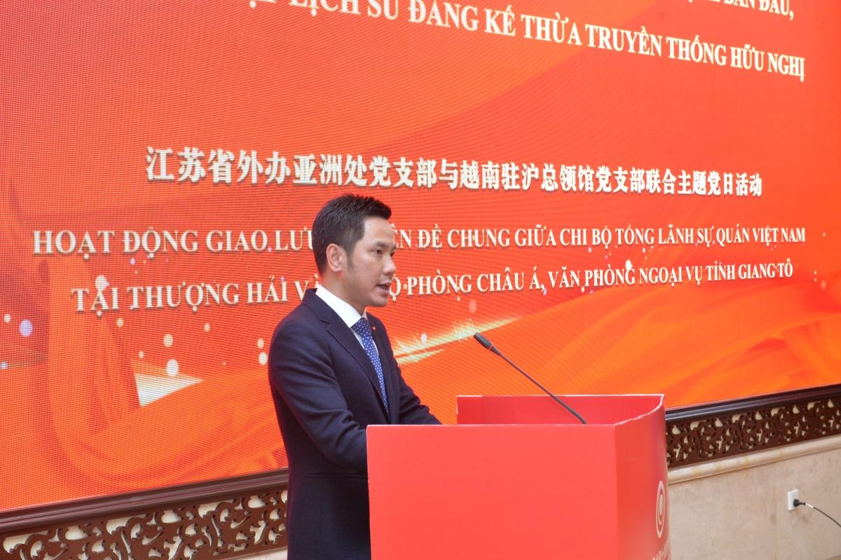 Tổng Lãnh sự Ninh Thành Công phát biểu tại Tọa đàm