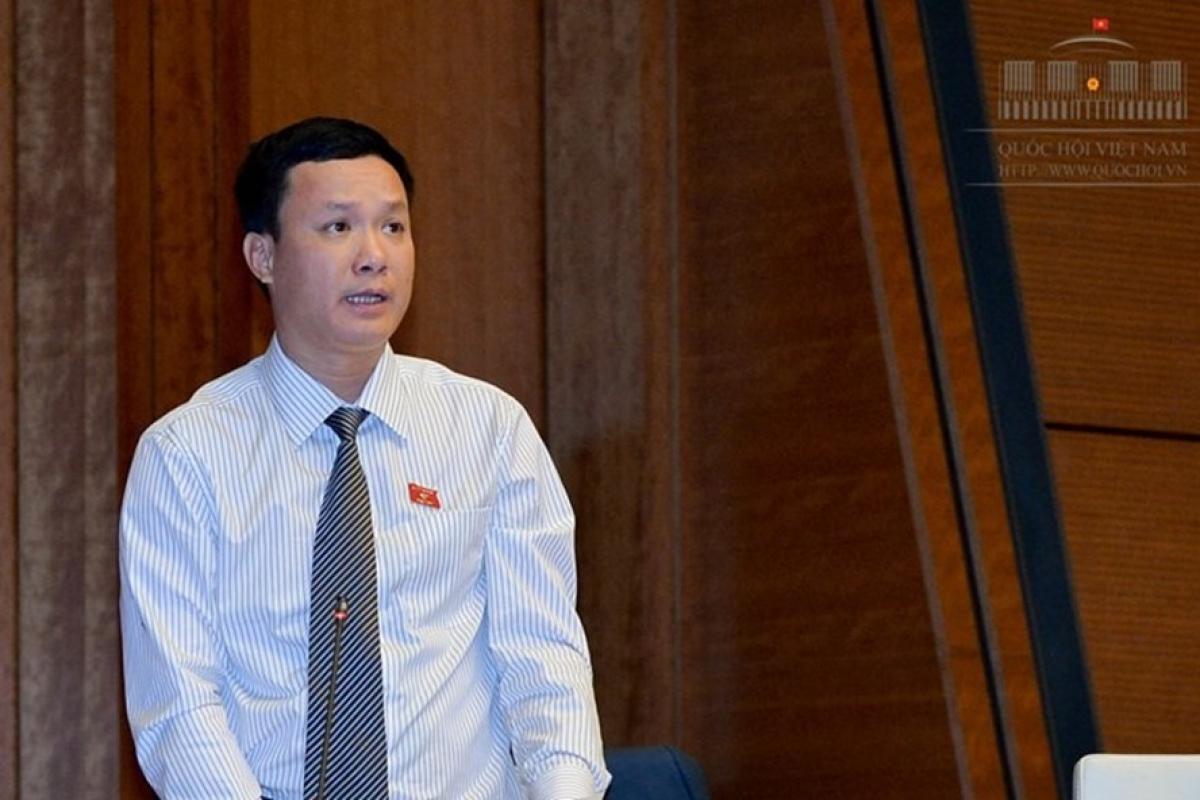 Đại biểu Triệu Thế Hùng, Đoàn ĐBQH tỉnh Lâm Đồng. Ảnh: Quochoi.vn