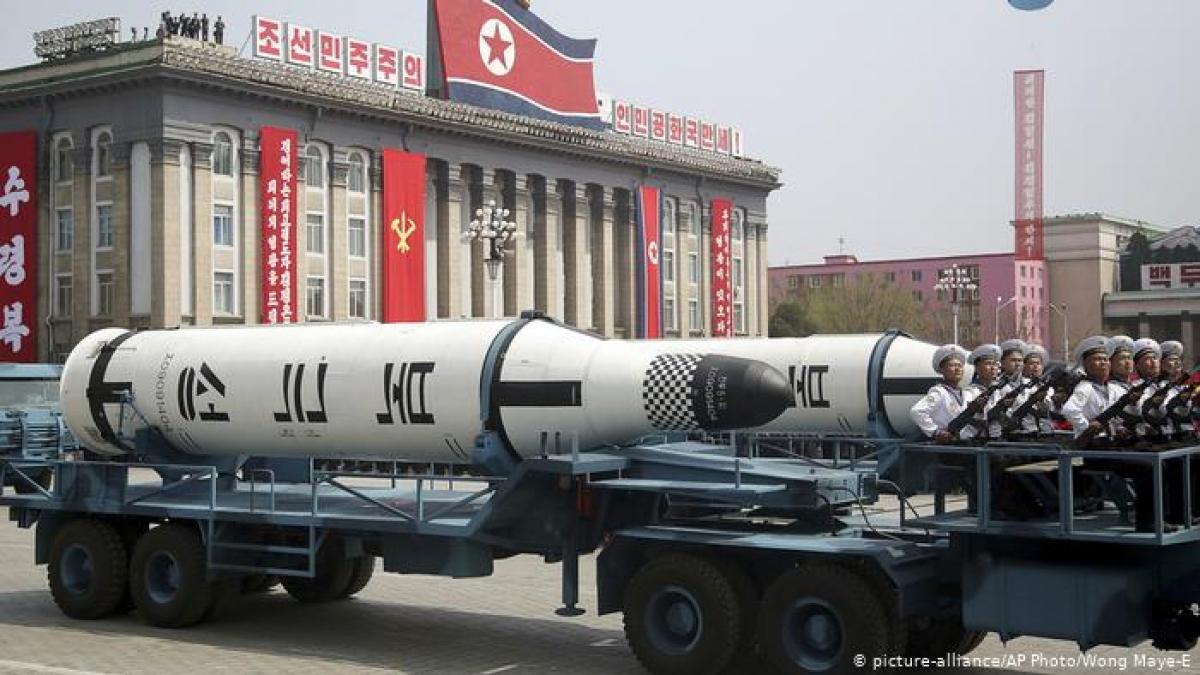 Triều Tiên không tiến hành vụ thử tên lửa tầm xa nào trong hơn 3 năm qua và để ngỏ cánh cửa đối thoại với Mỹ. Ảnh: DW