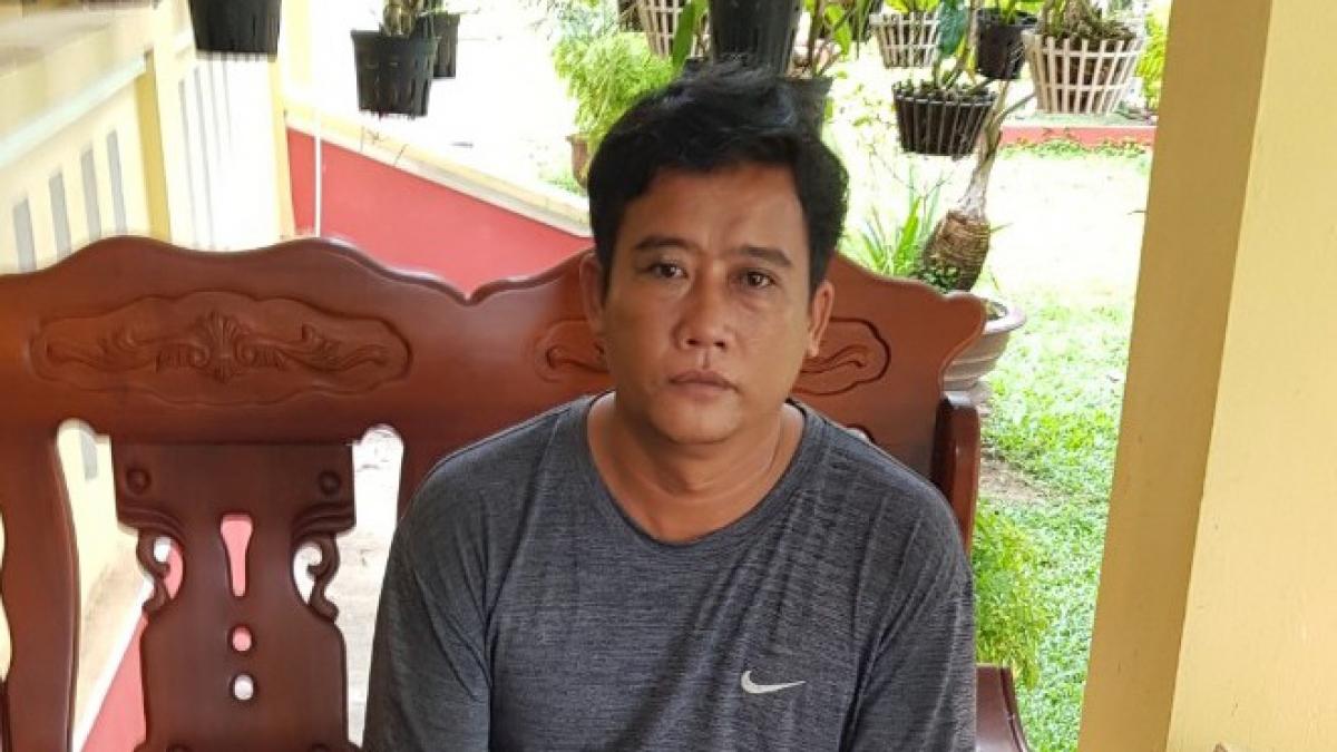 Đối tượng Lê Văn Hai bị truy nã gần 10 năm.