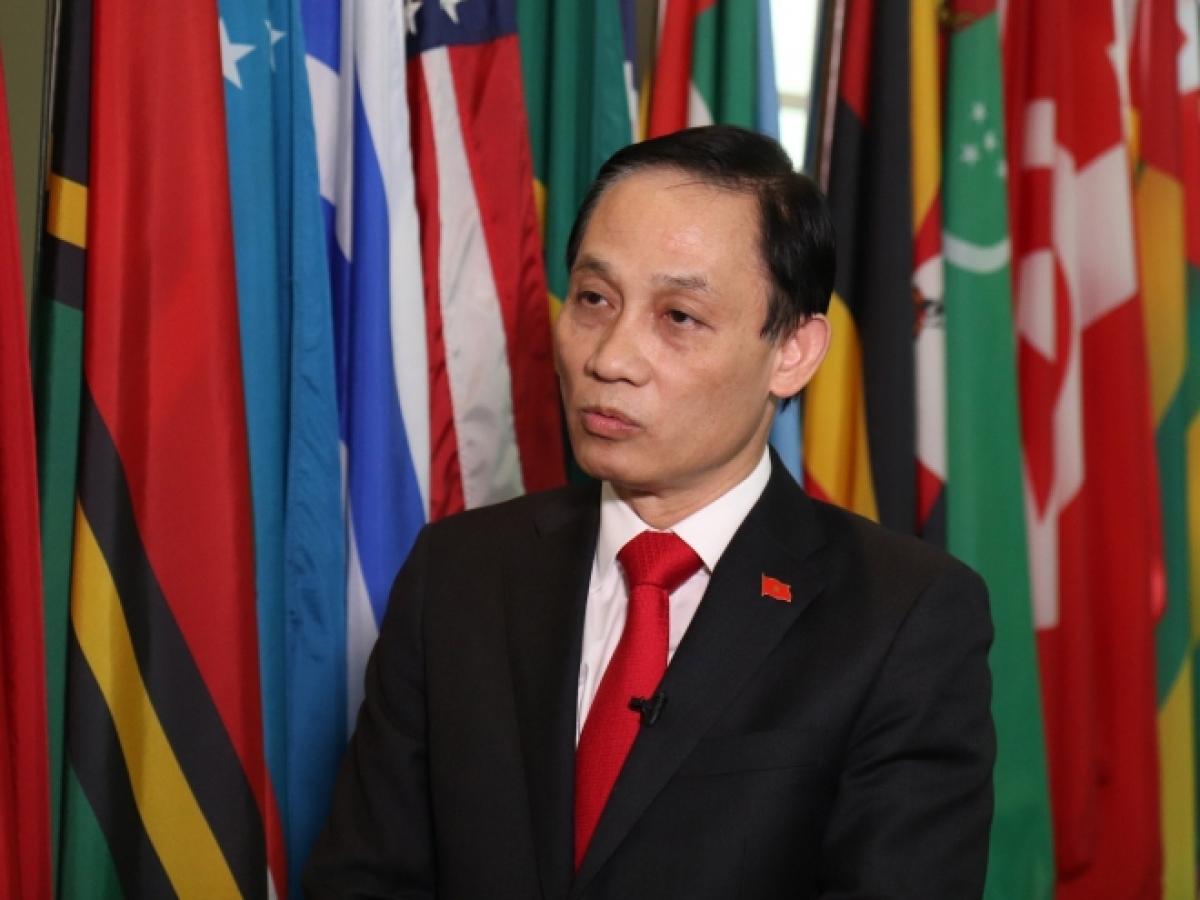 Trưởng ban Đối ngoại Trung ương Lê Hoài Trung (Ảnh: KT)