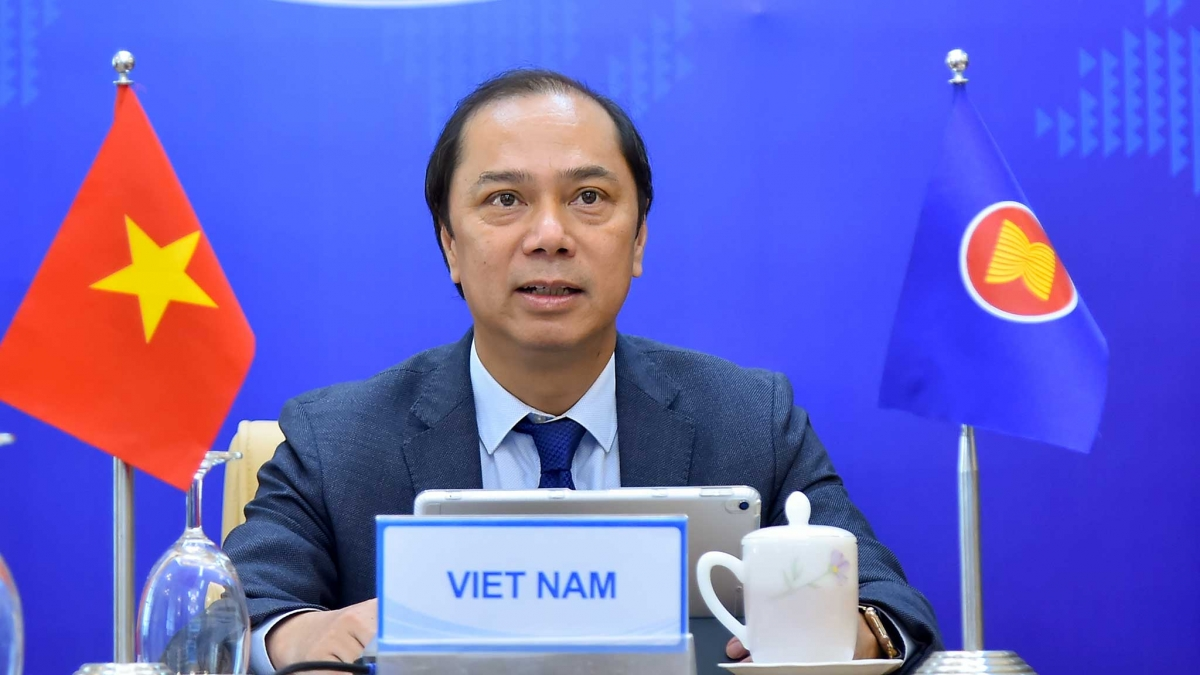 Thứ trưởng Bộ Ngoại giao Nguyễn Quốc Dũng.Nguồn: Bộ Ngoại giao
