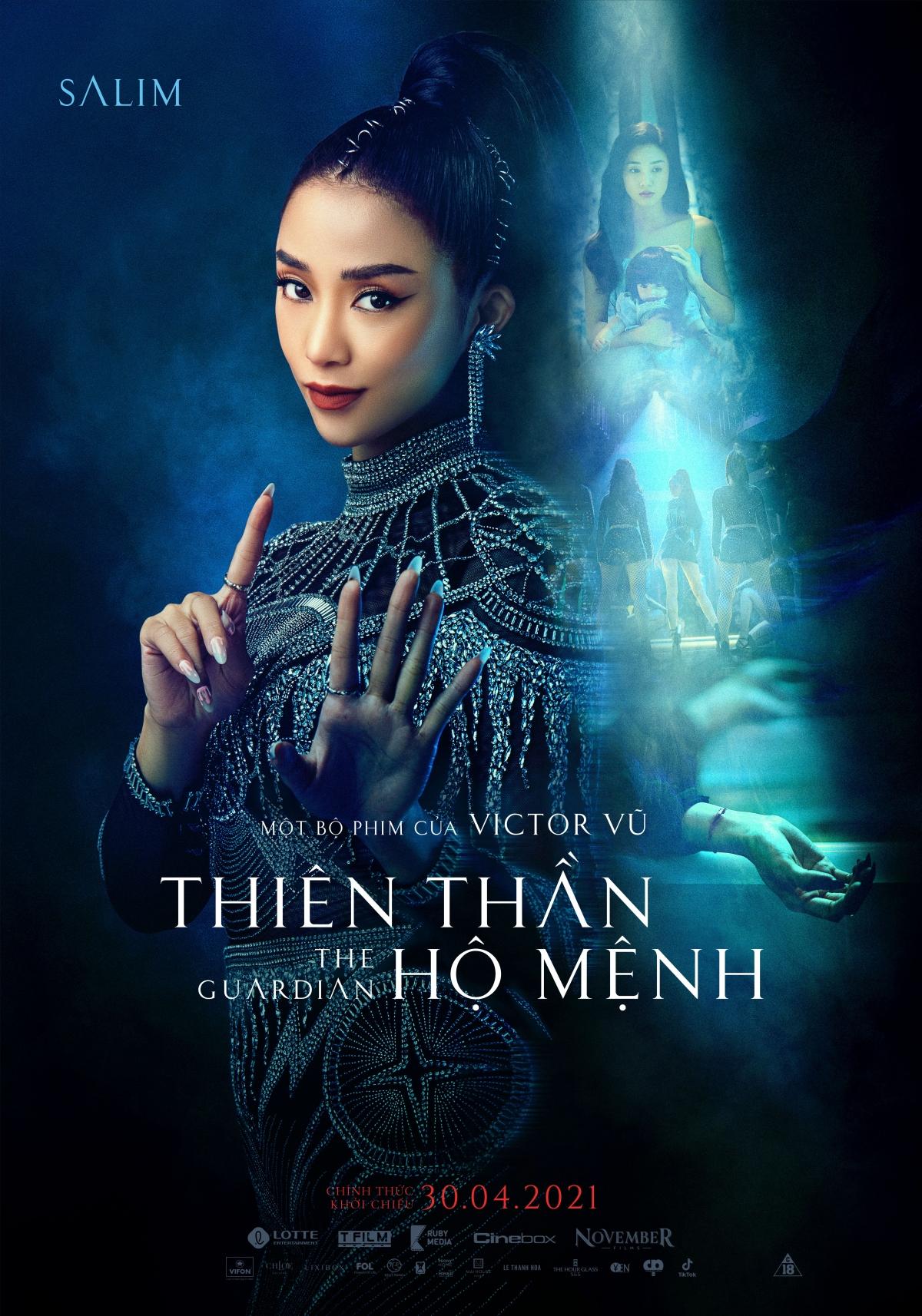 """Salim thủ vai """"IT girl"""" Lam Phương."""
