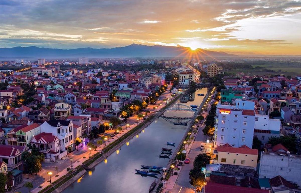 Tuyến đường Phan Bội Châu và Đồng Hải được kỳ vọng sẽ trở thành phố đi bộ thu hút du khách. Nguồn: Internet