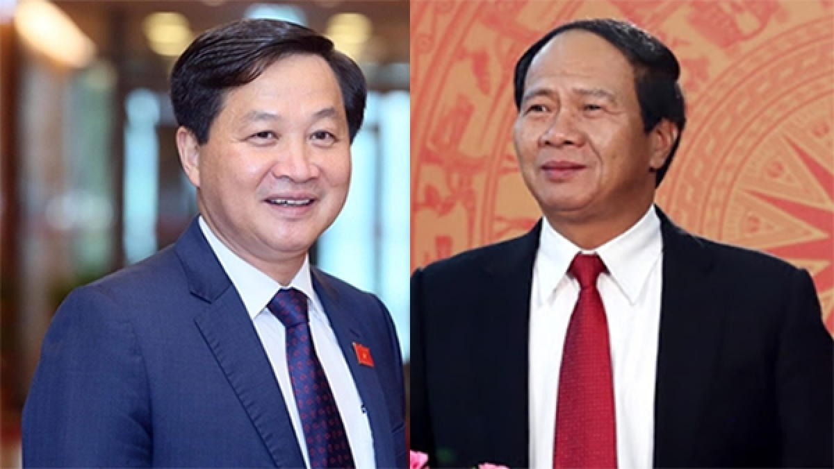 Le Minh Khai (L) and Le Van Thanh (R) are nominated to the Deputy PM posts
