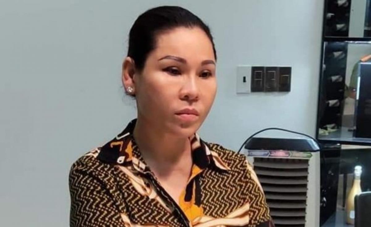Bị can Lâm Thị Thu Trà.
