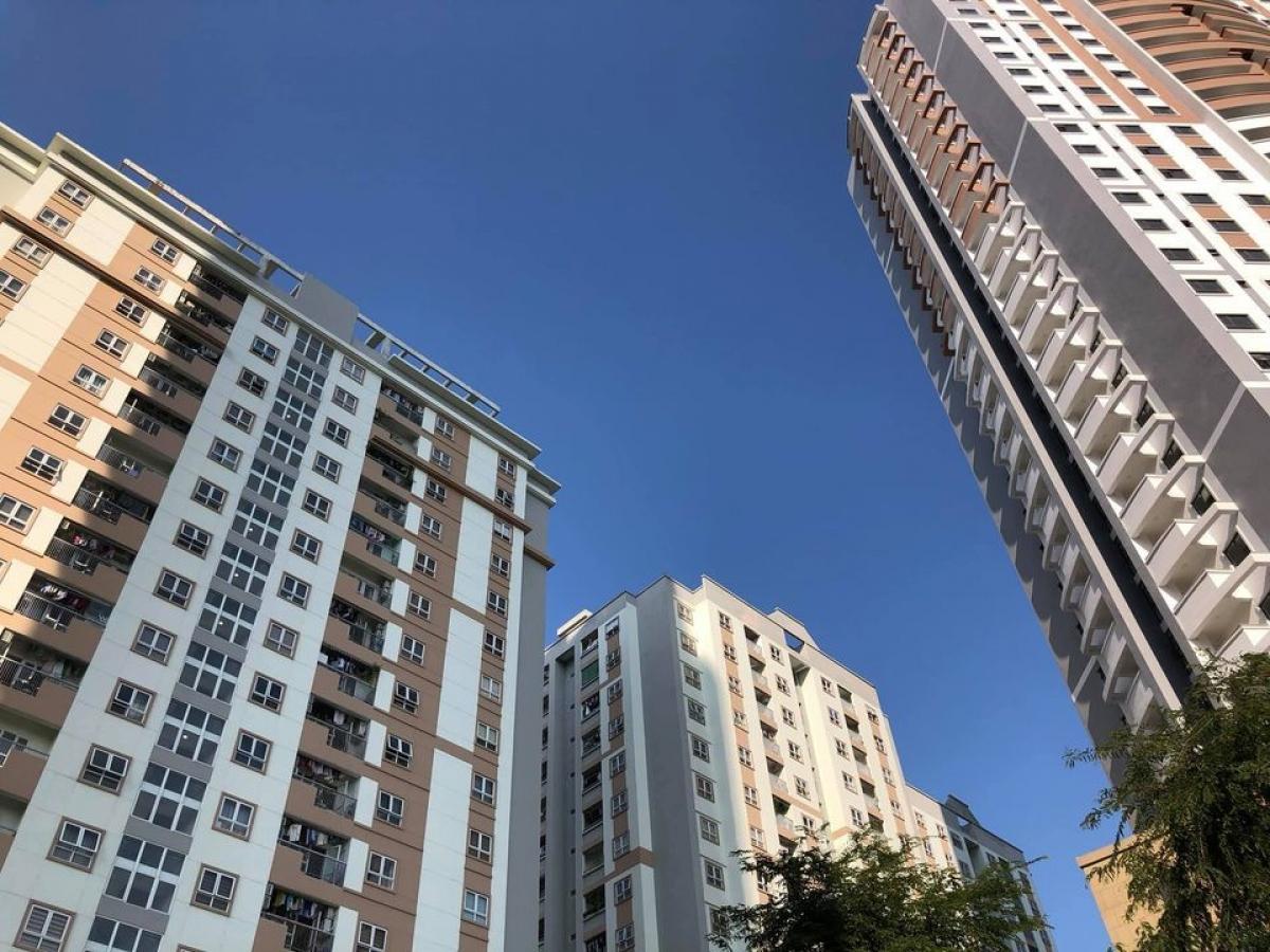 Nhiều dự án chung cư đang có mức giá giảm.