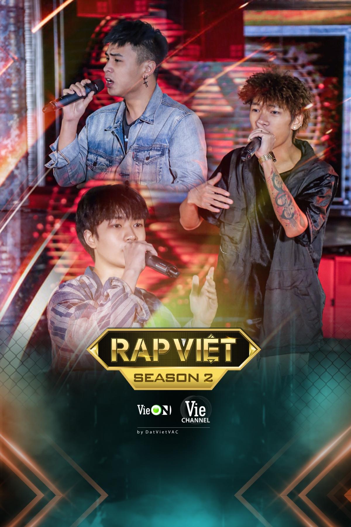 Dàn thí sinh tiềm năng lộ diện tại Rap Việt mùa 2.