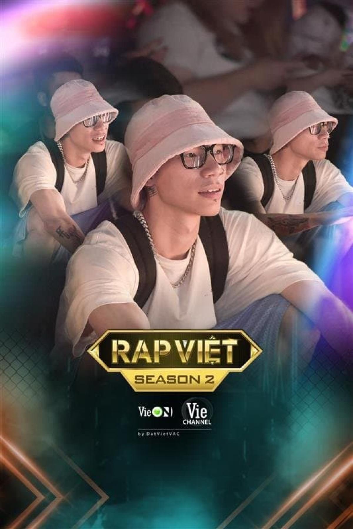 RPT MCK, thí sinh Rap Việt mùa 1 có mặt tại buổi casting để cổ vũ các thí sinh tham gia.