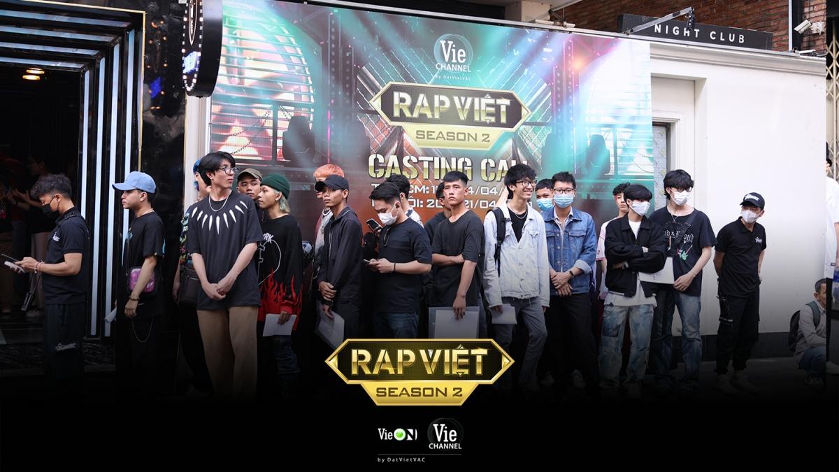 Buổi casting đầu tiên của Rap Việt mùa 2 đã diễn ra vào ngày 13/4.