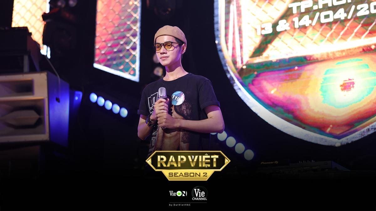 """Quán quân """"Sing my song"""", Cao Bá Hưng tham gia casting Rap Việt mùa 2."""