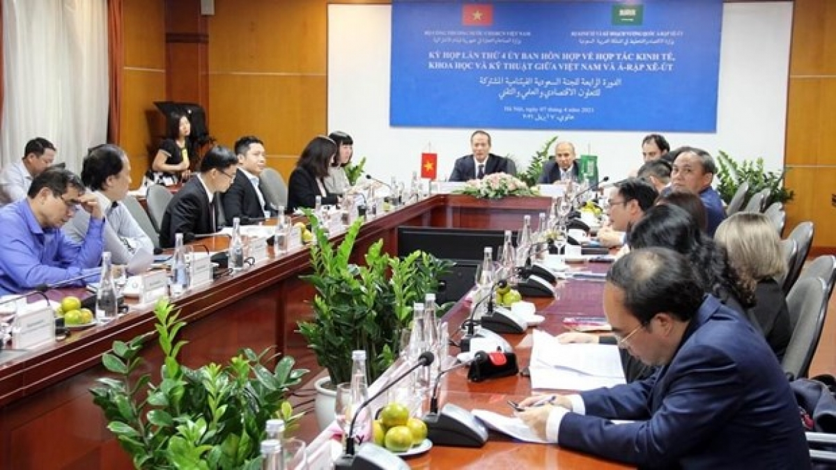 Fourth session of the Vietnam-Saudi Arabia Joint Committee on Economic, Scientific and Technological Cooperation is held via videoconference.