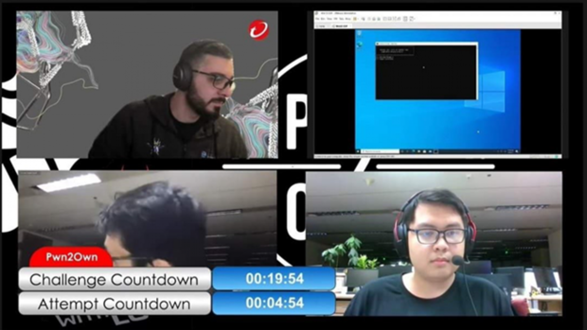 Viettel expert competes at Pwn20wn 2021hacking competition (Photo: cand.com.vn)