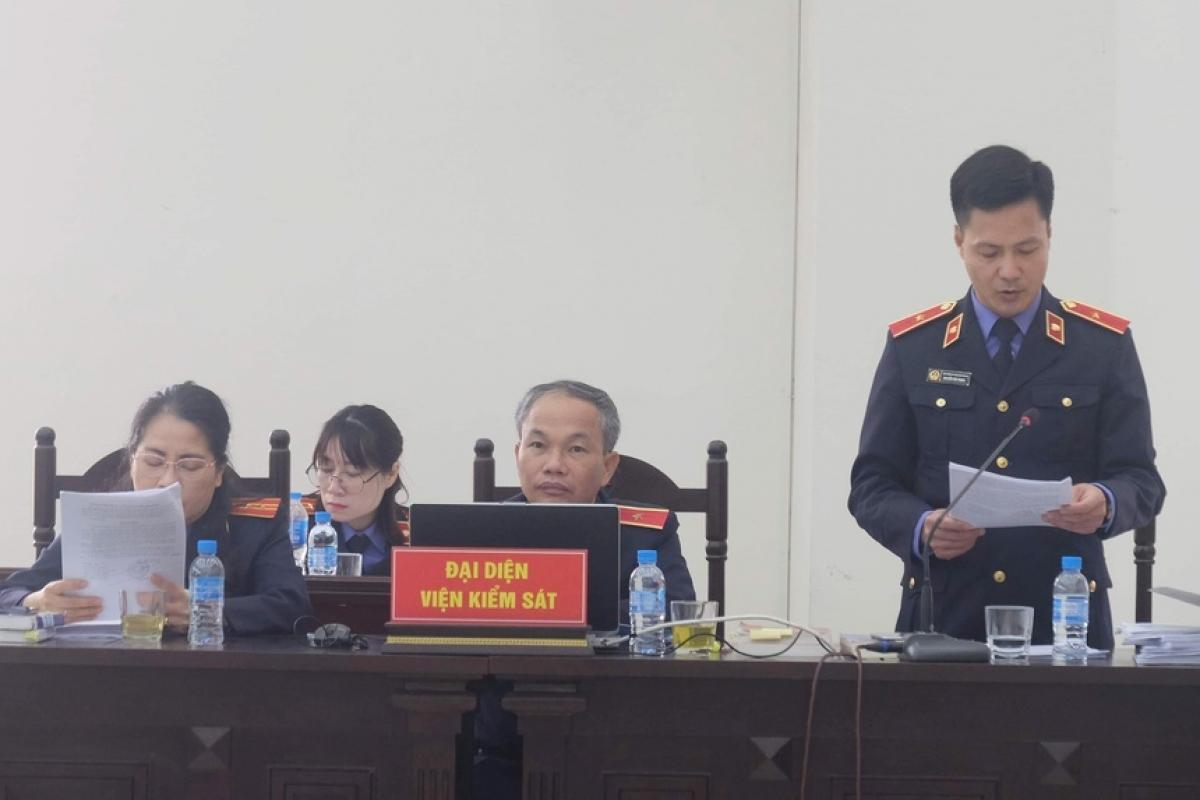 Viện kiểm sát đề nghị mức án với các bị cáo