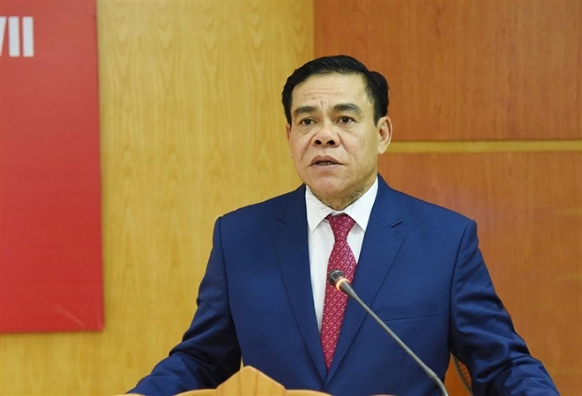 Tân Chủ tịch UBND tỉnh Hà Tĩnh Võ Trọng Hải. (Ảnh BHT)
