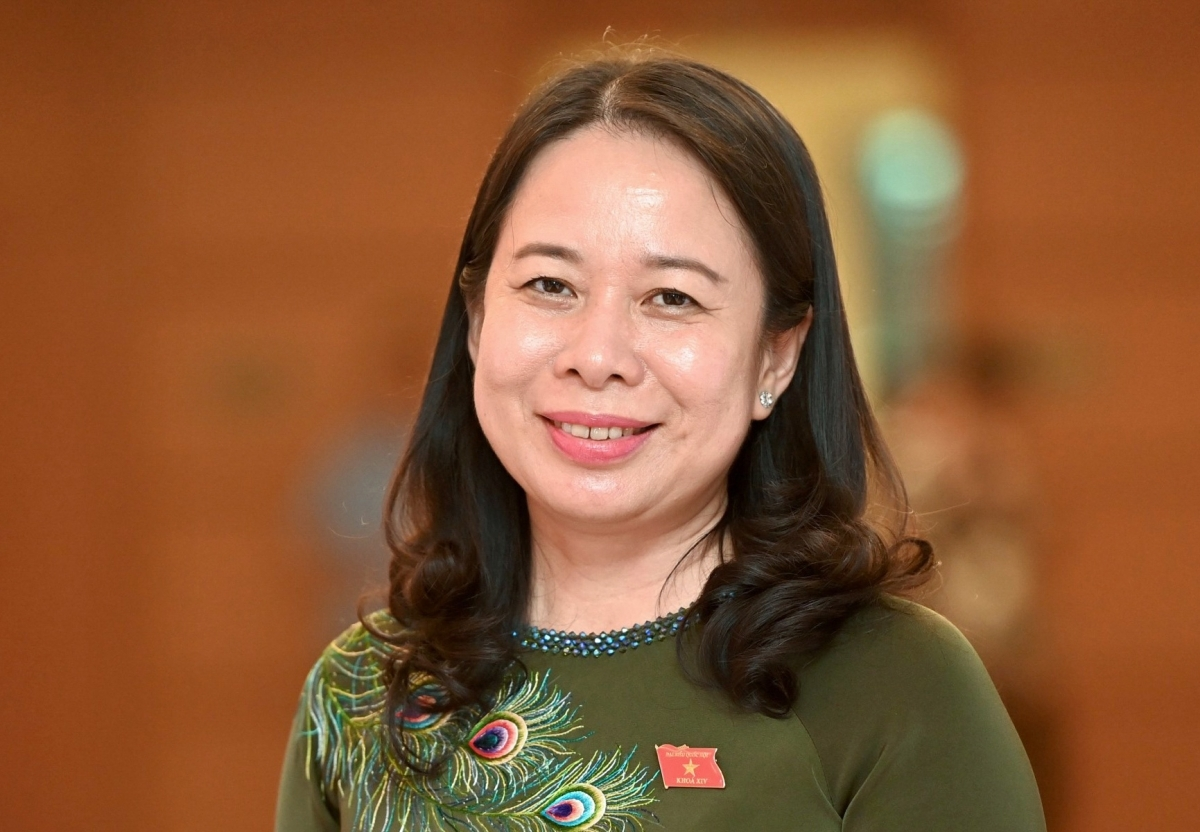 Vo Thi Anh Xuan is nominated for NA election to the post of Vice State President