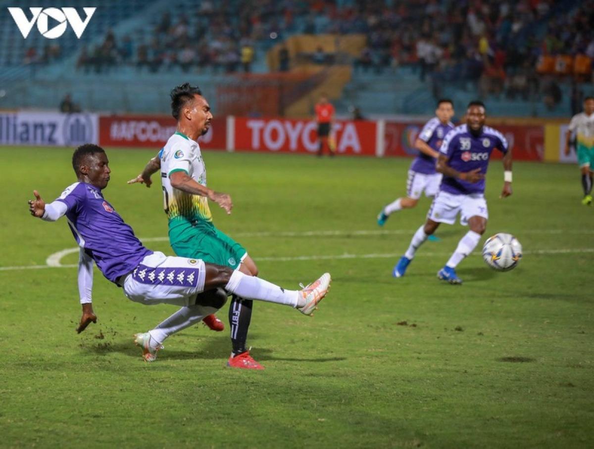 Hà Nội FC thua trận không tưởng ở AFC Cup ngày này 2 năm trước.