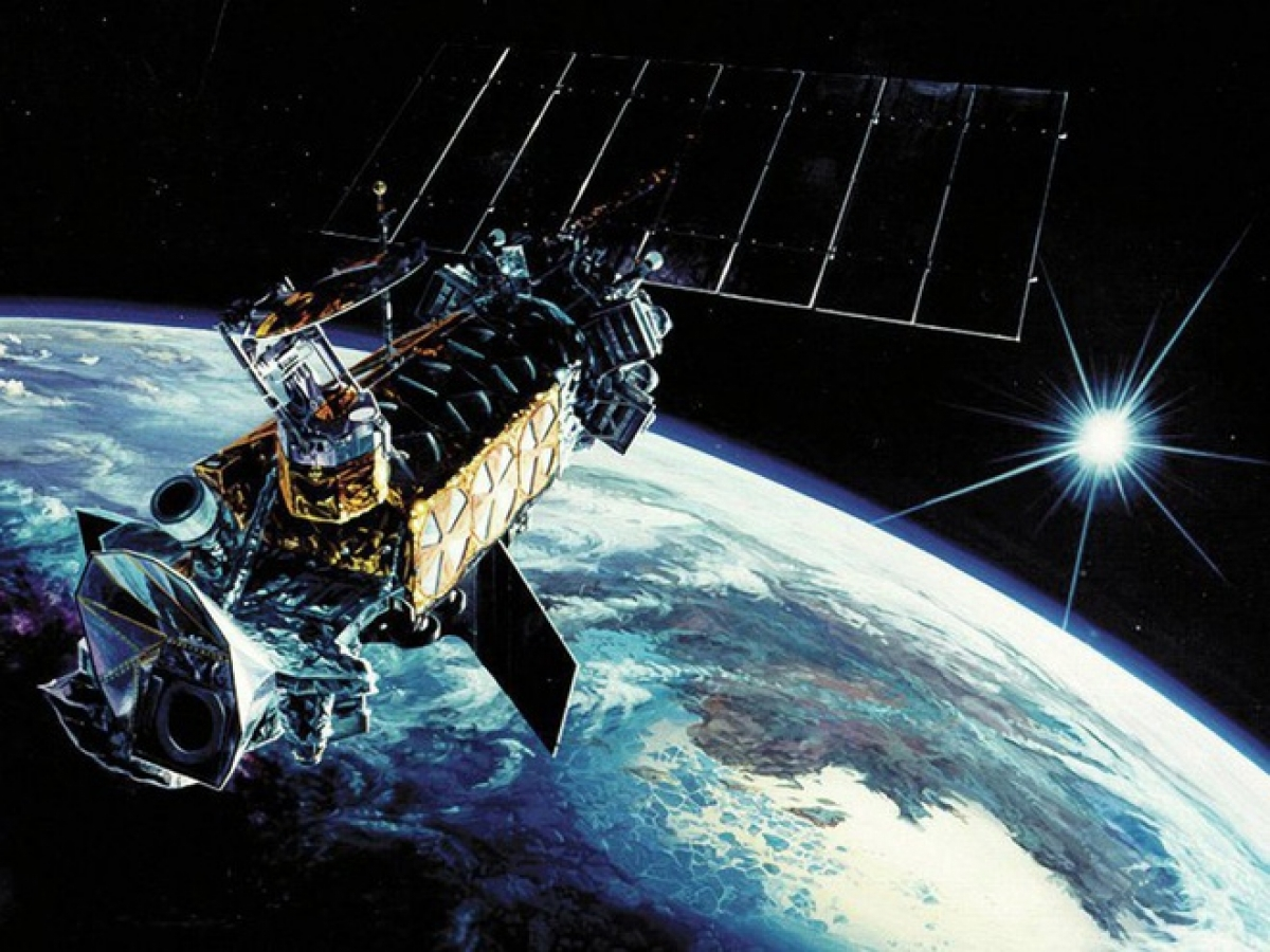 Trung Quốc được cho là đang nỗ lực thách thức vị thế của Mỹ trong không gian. Ảnh: US Air Force