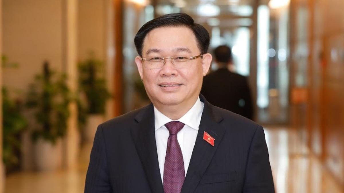 Chủ tịch Quốc hội nước Cộng hòa xã hội chủ nghĩa Việt Nam Vương Đình Huệ.