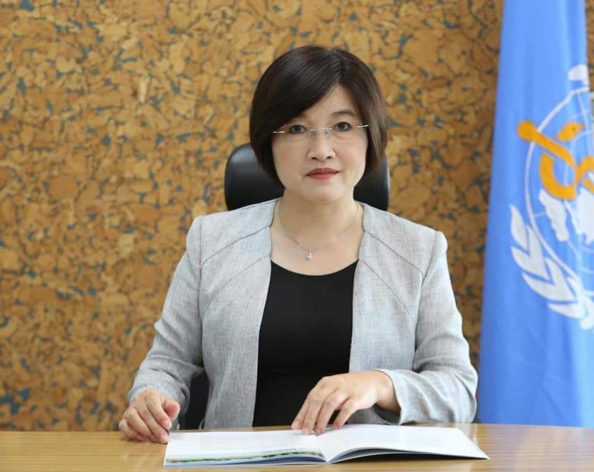 Đại diện Tổ chức Y tế Thế giới (WHO) tại Campuchia, bà Li Ailan (Ảnh: WHO)