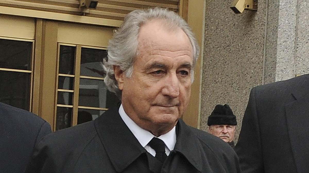 Ông Bernard Madoff. Ảnh: AP