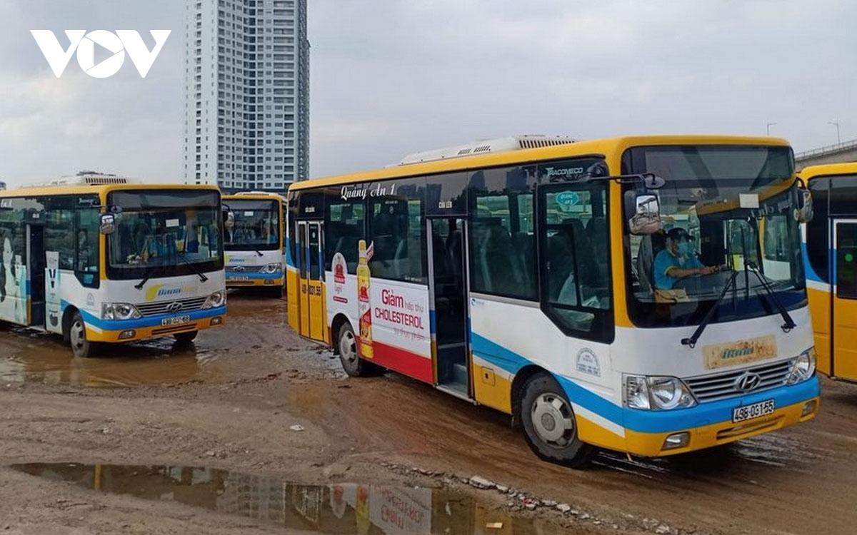 Thành phố Đà Nẵng tập trung phát triển xe buýt công cộng giảm tải áp lực giao thông