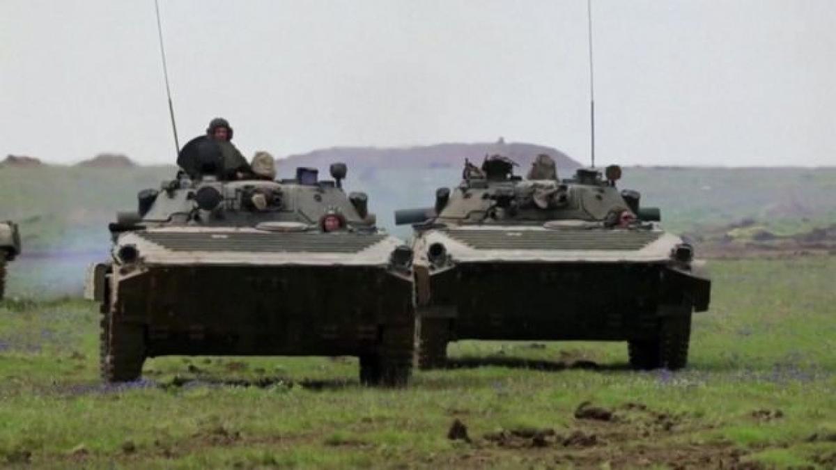 Nga rút quân ra khỏi biên giới với Ukraine. Ảnh minh họa: BBC.