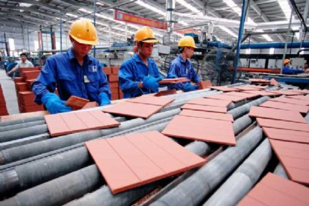 Nhiều DN sản xuất vật liệu xây dựng có cơ hội tiếp cận thị trường Australia. Ảnh minh họa: KT