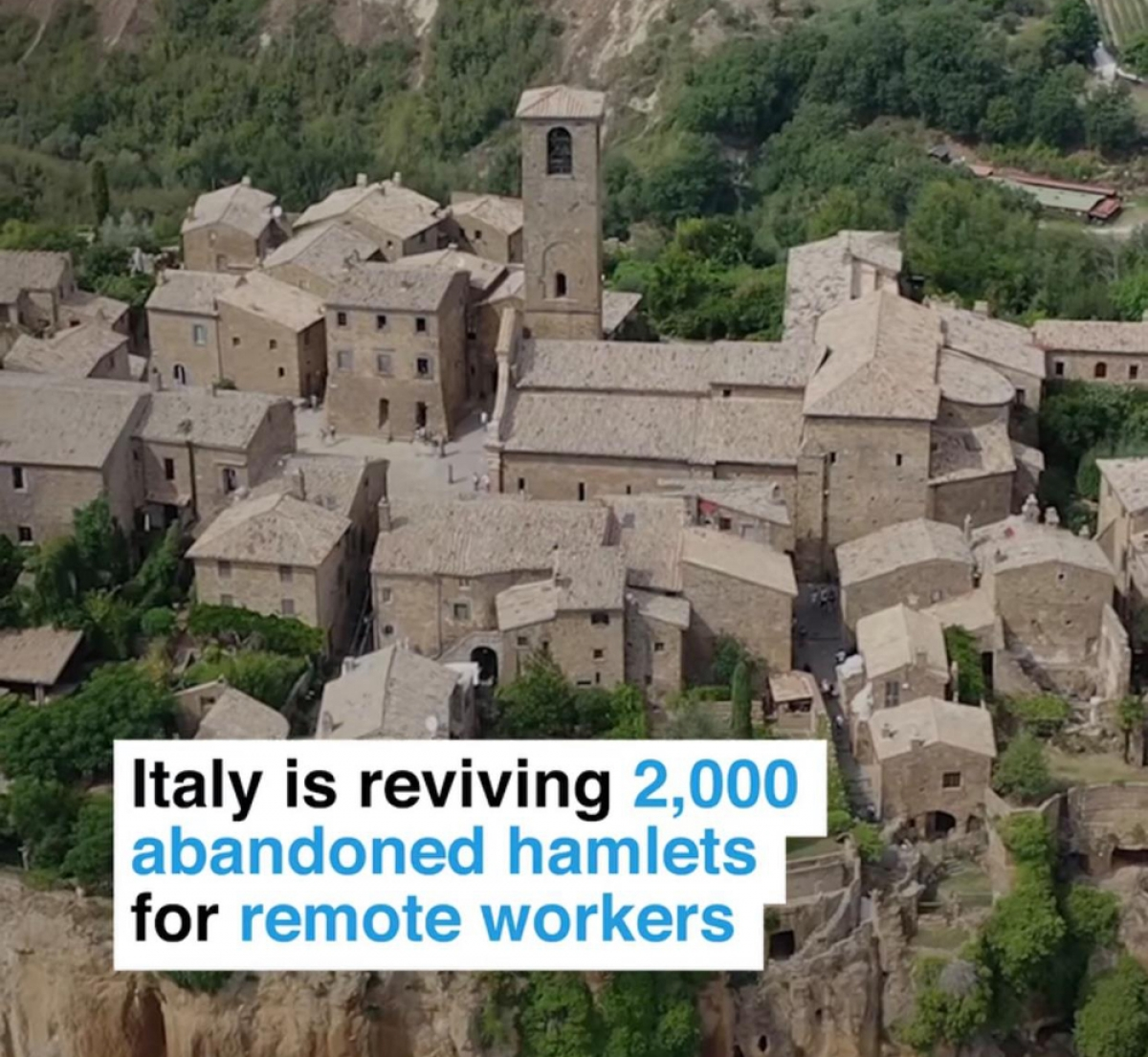 """Chình quyền Italy hỗ trợ tích cực cho người dân đến ở và lập nghiệp tại những ngôi làng """"ma""""."""