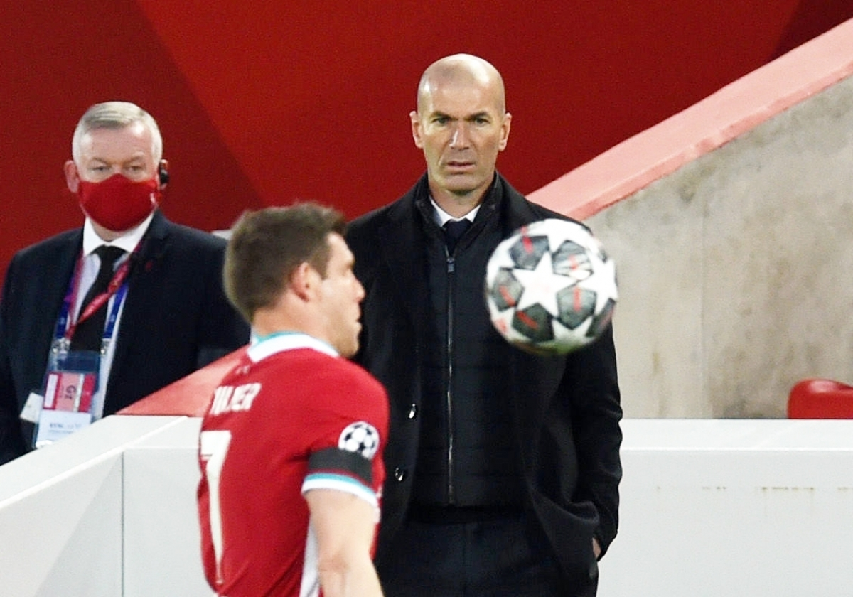 HLV Zidane biết cách đọ vị đối thủ và có đấu pháp hợp lý để kết liễu đối phương (Ảnh: Getty).