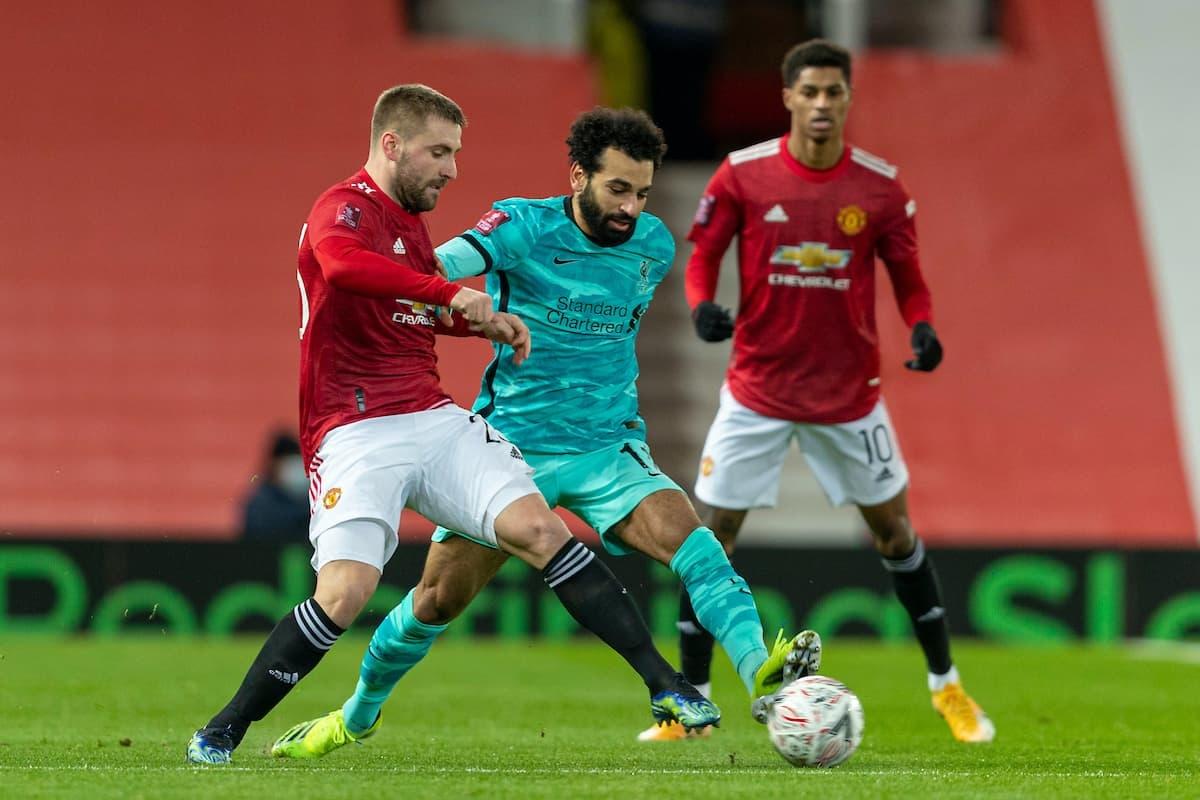 Theo lịch đã được điều chỉnh, trận đấu giữa MU và Liverpool diễn ra vào 2h15 rạng sáng mai (14/5) theo giờ Việt Nam. Khán giả vẫn chưa được phép vào khán đài cổ vũ do dịch Covid-19./.